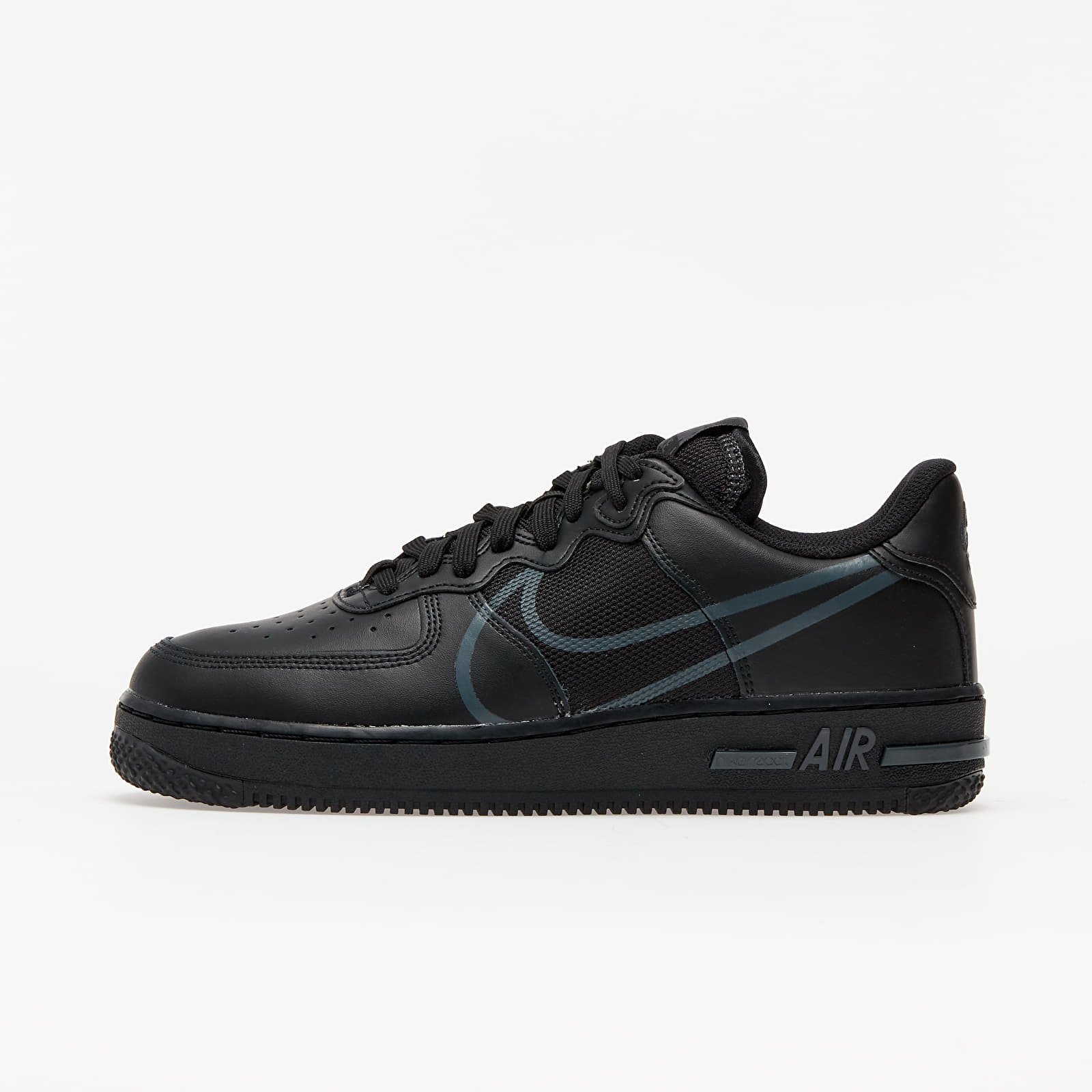 Zapatillas Hombre Nike Air Force 1 React Black/ Anthracite