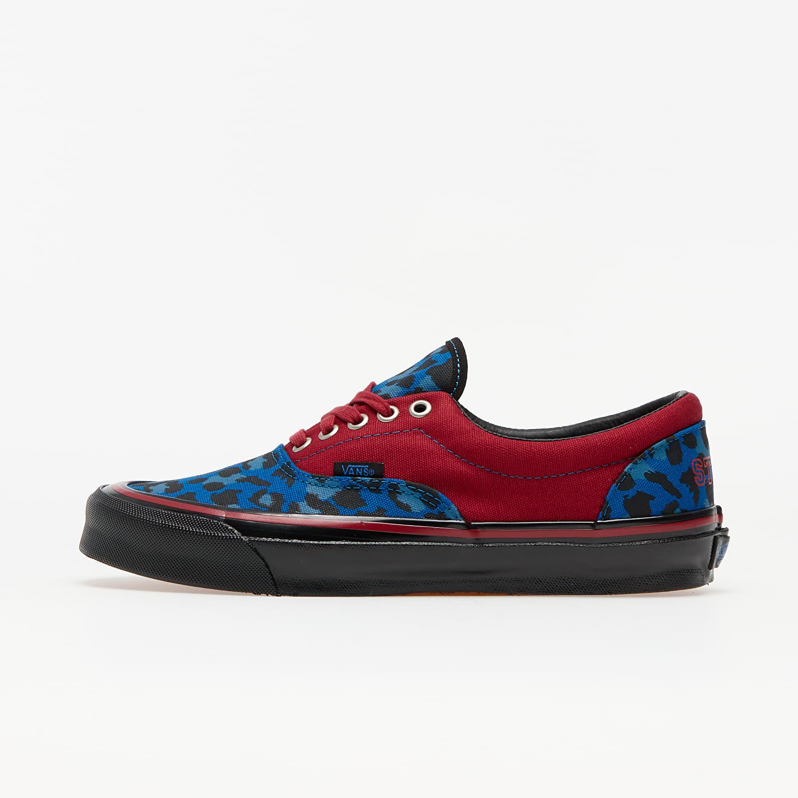Pánské tenisky a boty Vans OG Era LX (Stray Rats) Red/ Blue