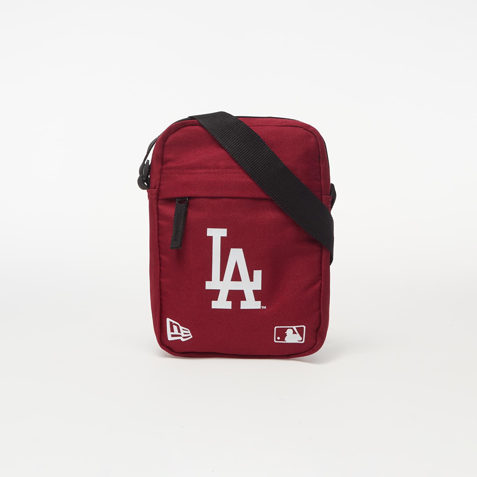 Taschen New Era MLB Los Angeles Dodgers Side Bag Maroon