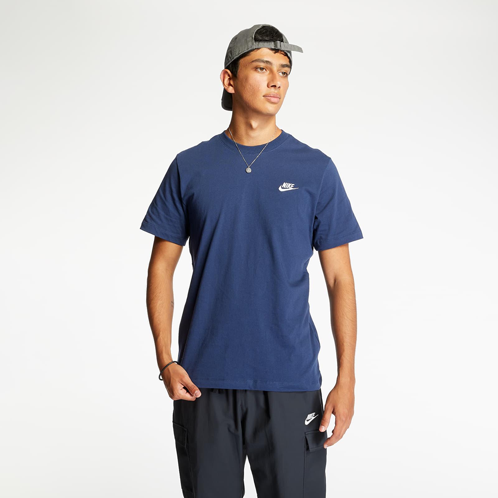 T-shirts Nike Sportswear Club Tee Midnight Navy