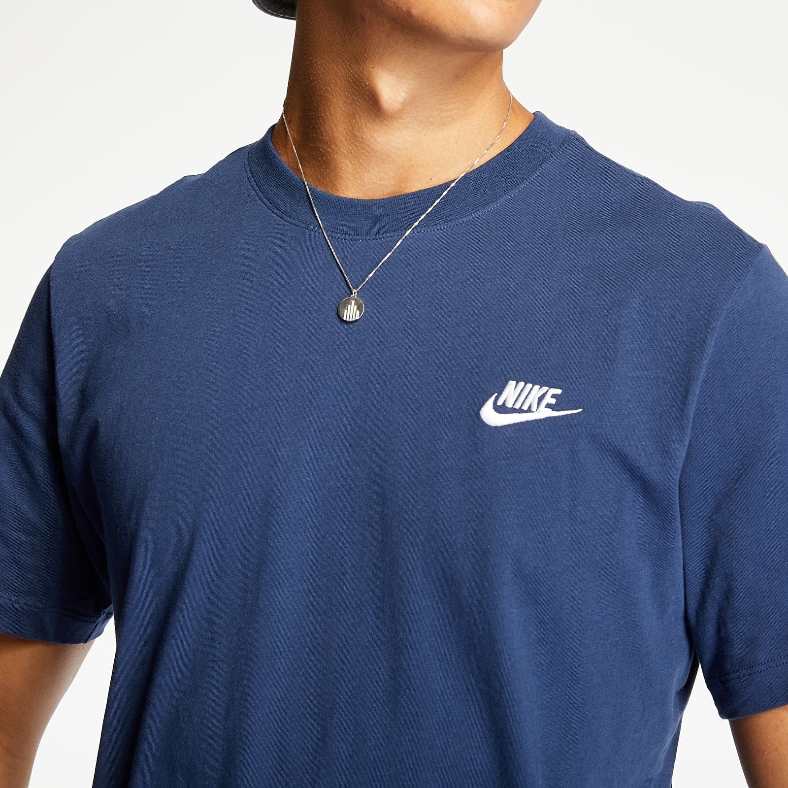 Nike Sportswear Club Tee Midnight Navy, Blue