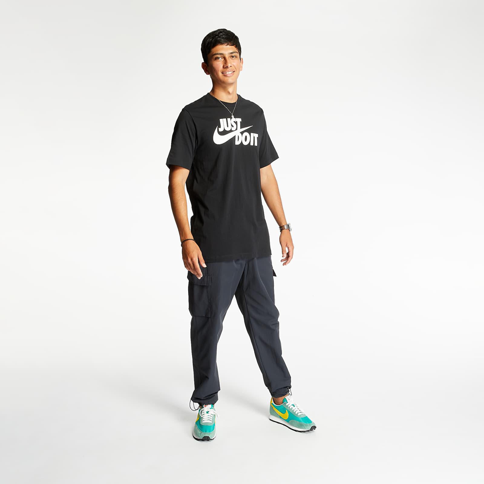 Nike Sportswear Just Do It Swoosh Tee Black/ White
