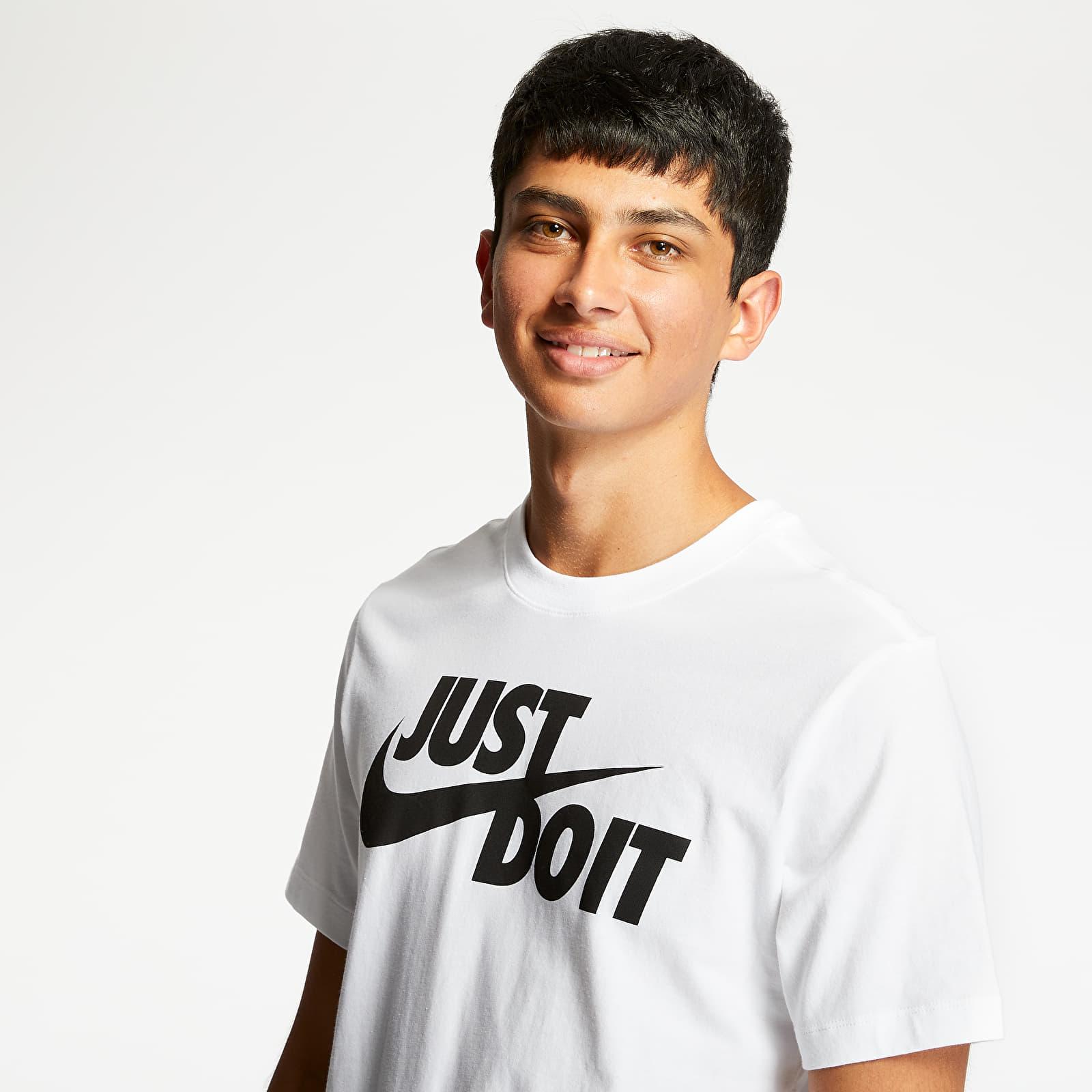 T-shirts Nike Sportswear JDI Tee White/ Black