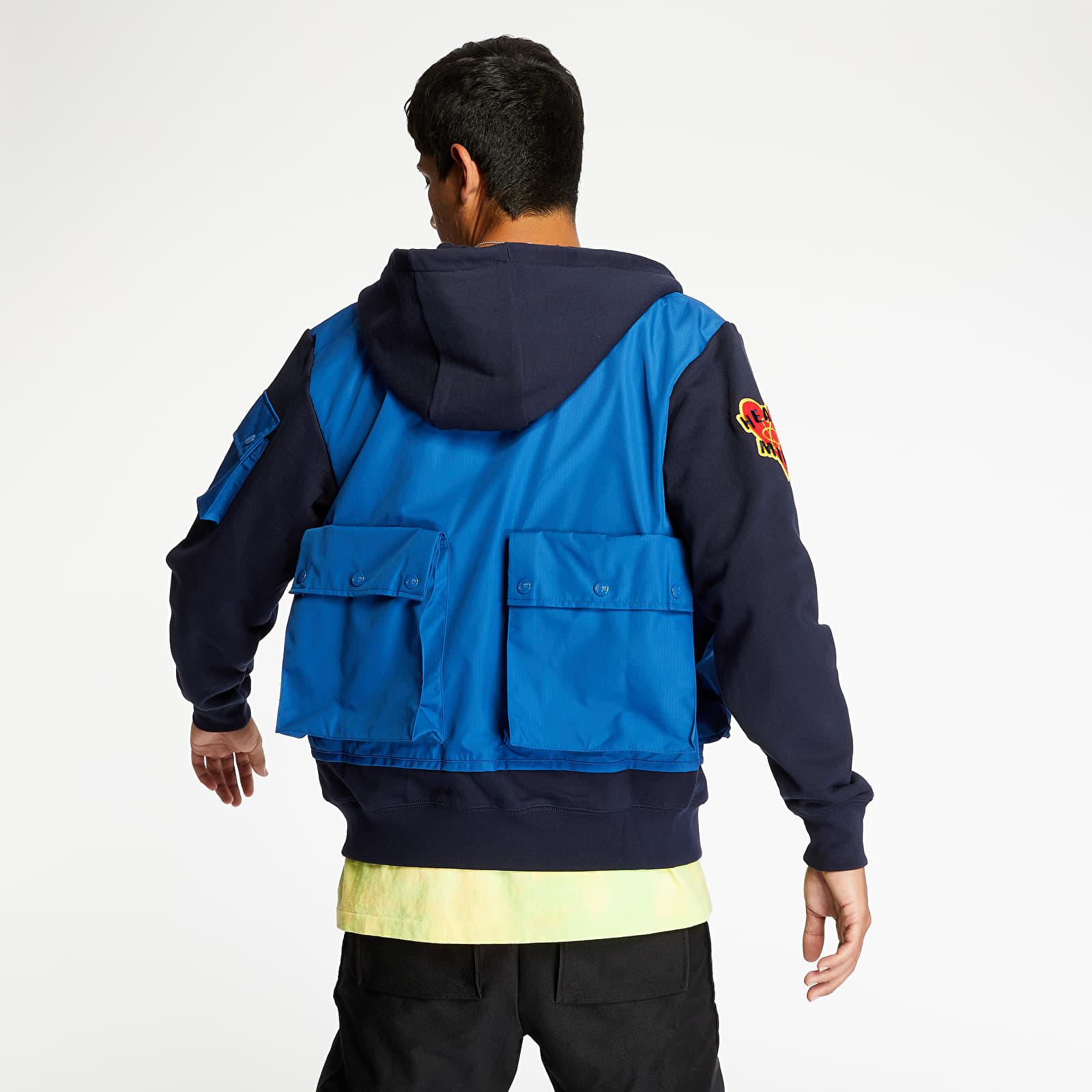 Fashion Billionaire Boys Club Tactical Zip Hoodie Navy