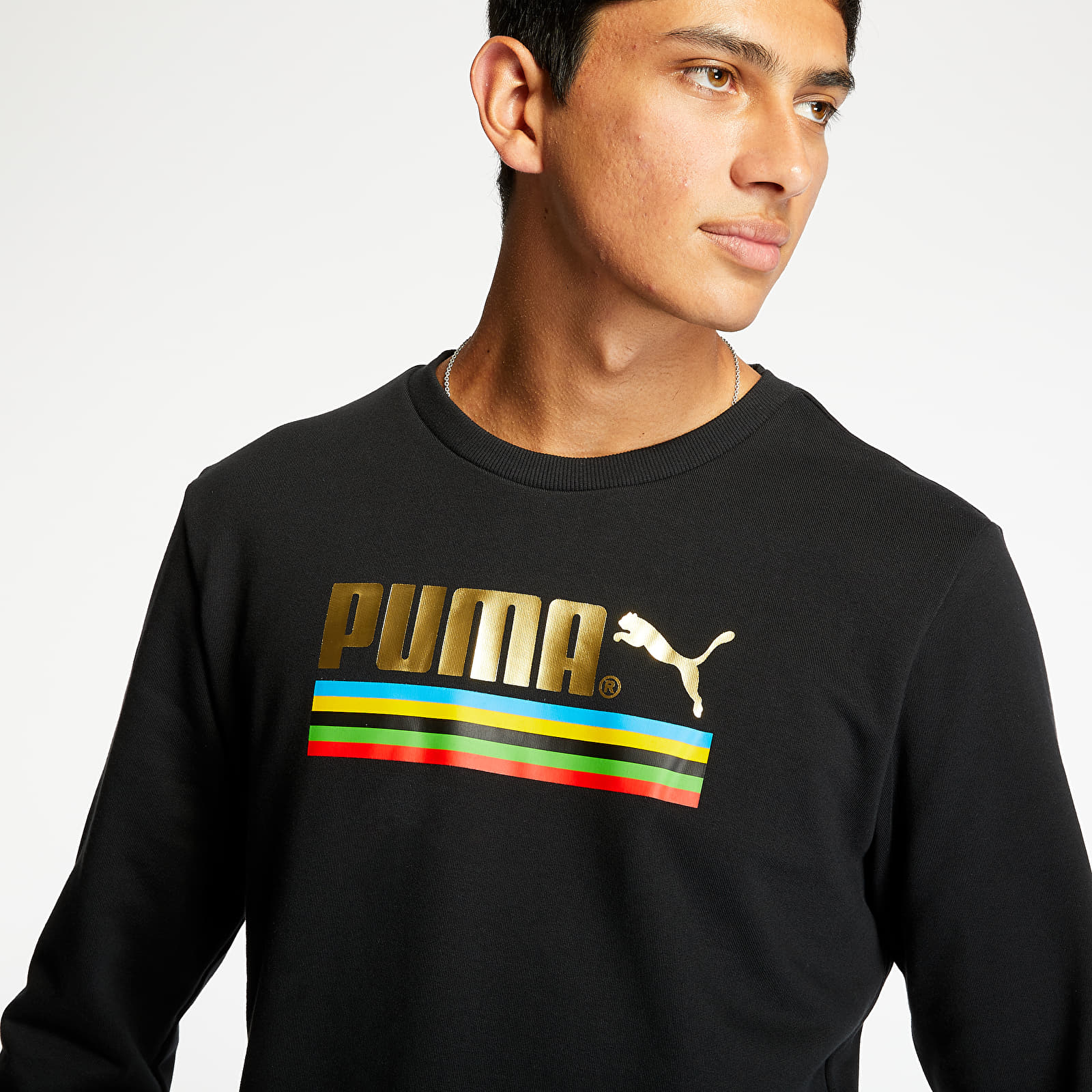 Männer Bekleidung Puma TFS Unity Crewneck Puma Black