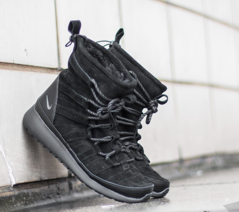 best cheap da9ec 10b7c Nike Wmns Roshe One Hi Suede Black Anthracite