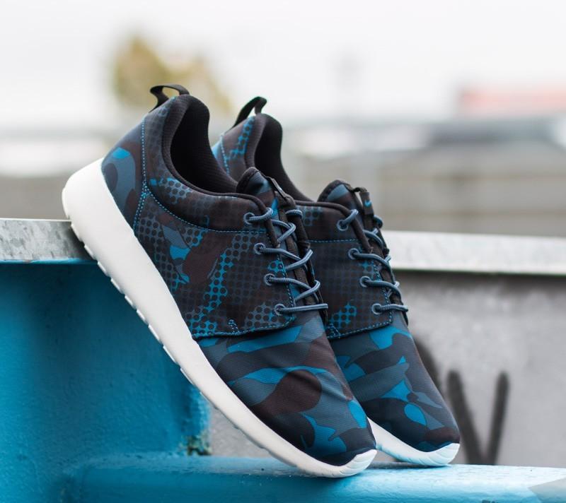 pretty nice bf0d0 ab828 Nike Roshe One Print Brigade Blue Black-Squadrin Blue-Obsidian