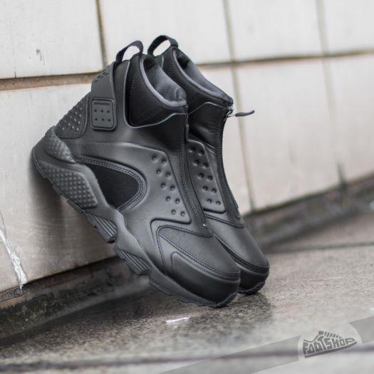 half off 6ffc5 336ce Nike W Air Huarache Run Mid Black/ Black-Reflect Silver ...