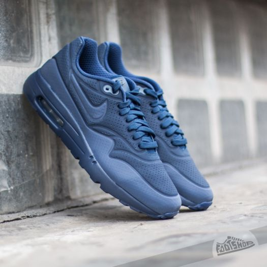 Nike Air Max 1 Ultra Moire Midnight Navy Midnight Navy Black | Footshop