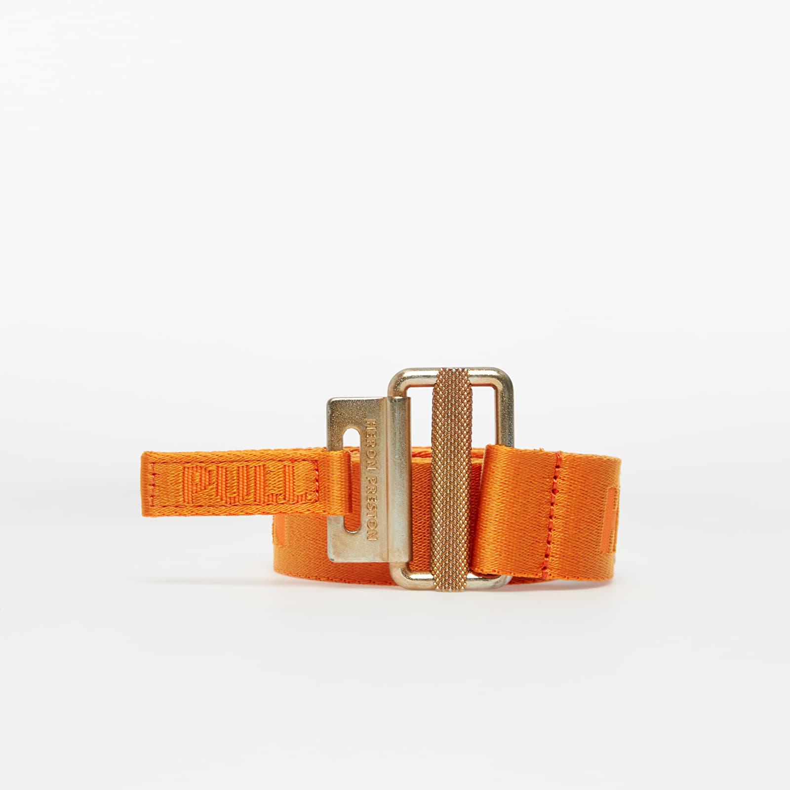 Gürtel HERON PRESTON Tape Belt Orange Gold