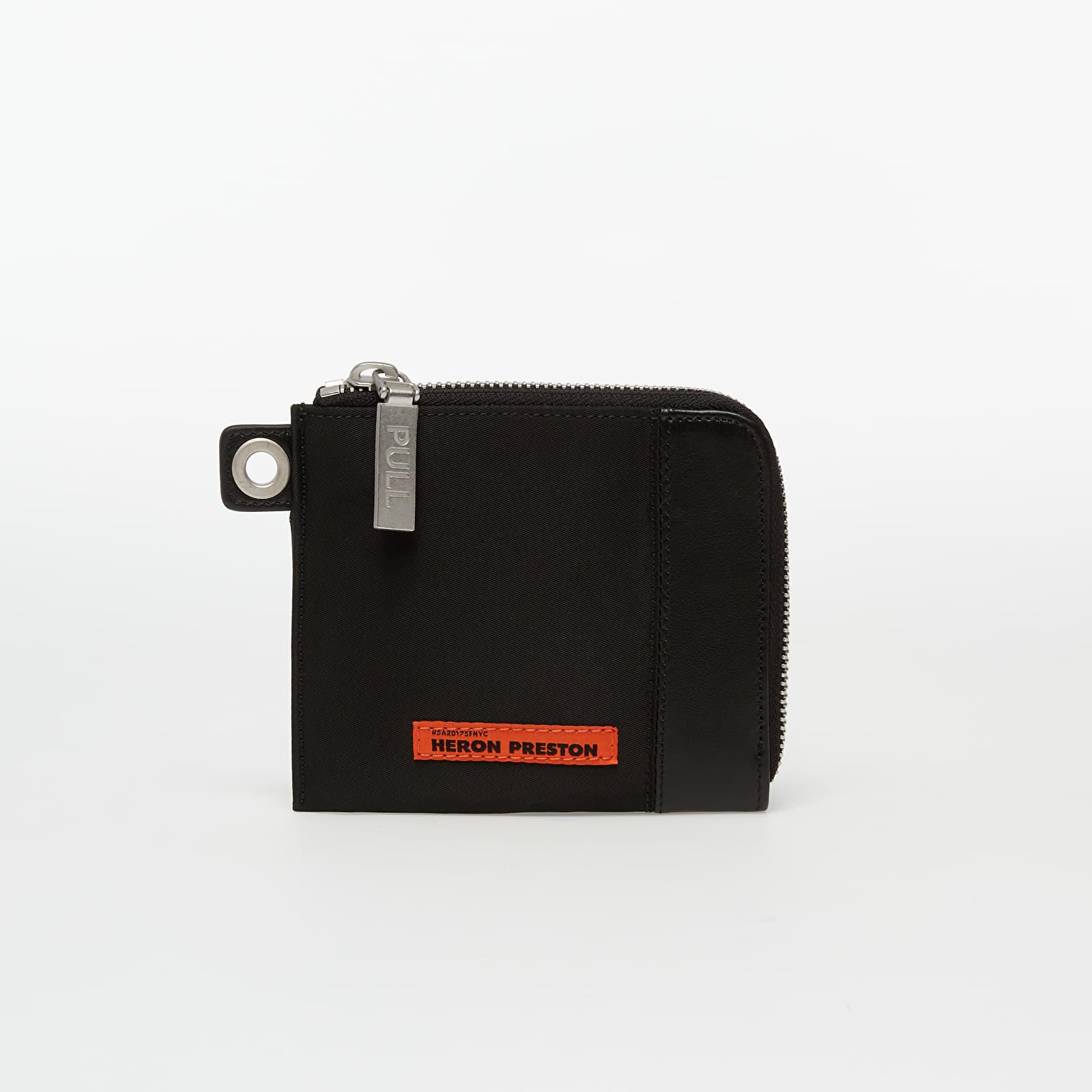 Portofele HERON PRESTON Nylon Chain Wallet Black