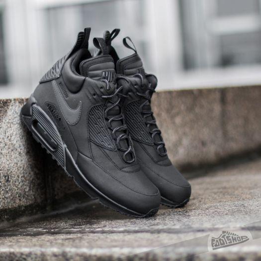 Nike Air Max 90 Sneakerboot Winter Black  Black-Black  5d7201efb