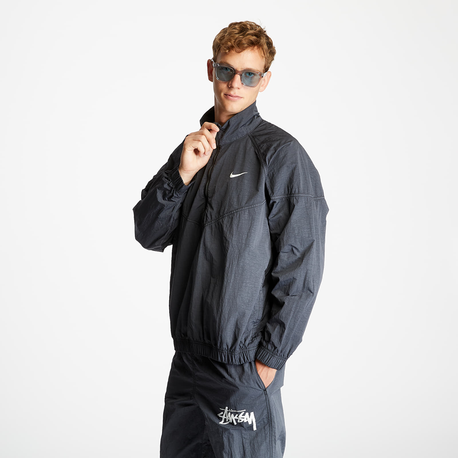 Übergangsjacken Nike x Stüssy Windrunner Jacket Off Noir