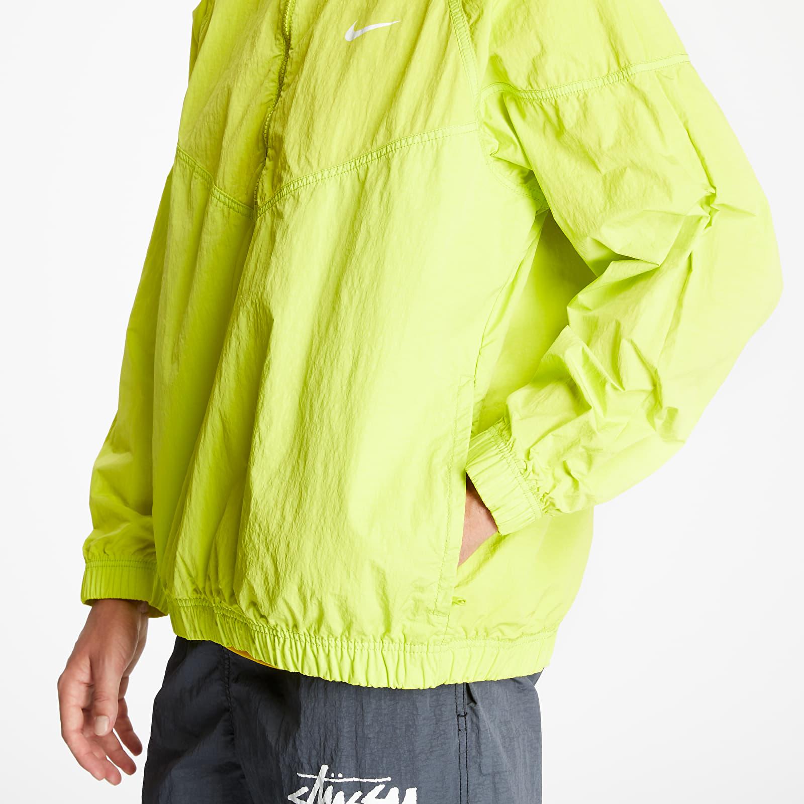 Nike x Stüssy NRG BR Windrunner Jacket Bright Cactus, Green