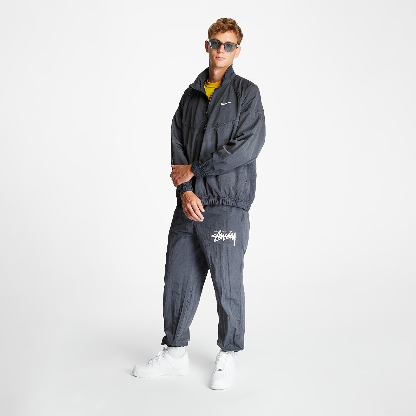 Nike x Stüssy Windrunner Jacket Off Noir, Black