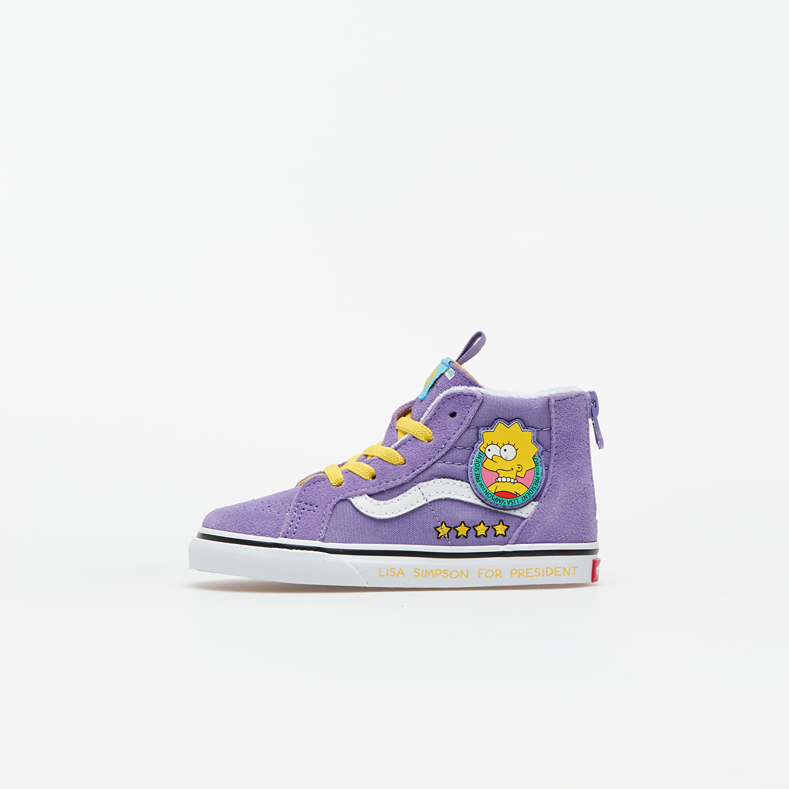 Dječje tenisice Vans Sk8-Hi Zip (The Simpsons) Lisa 4 Prez