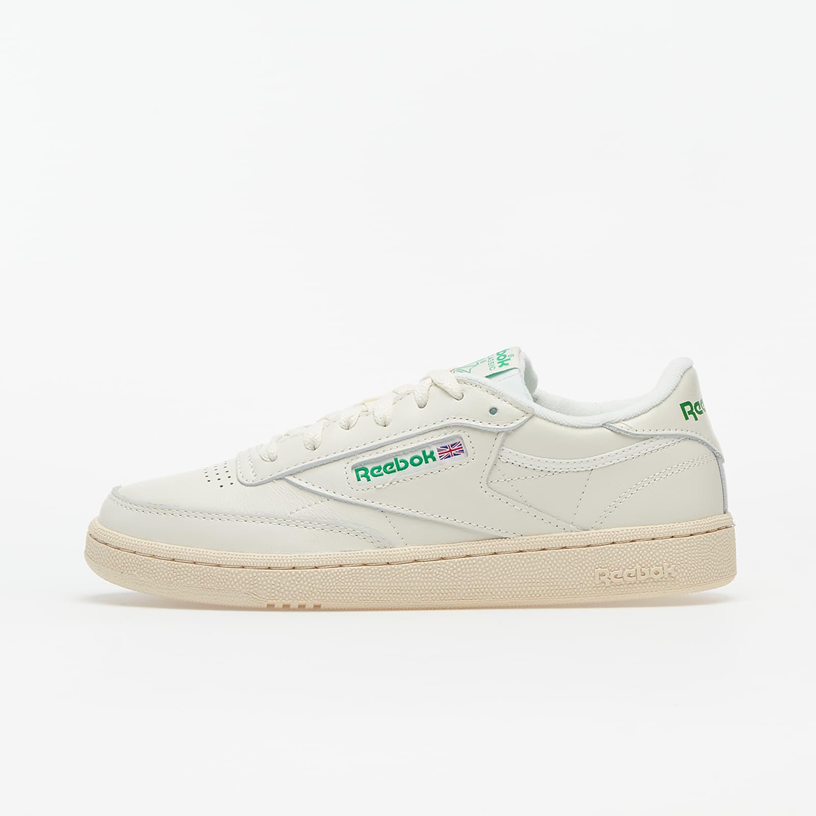 salto oleada Calificación  Women's shoes Reebok Club C 85 Chalk/ Green/ White/ Red | Footshop