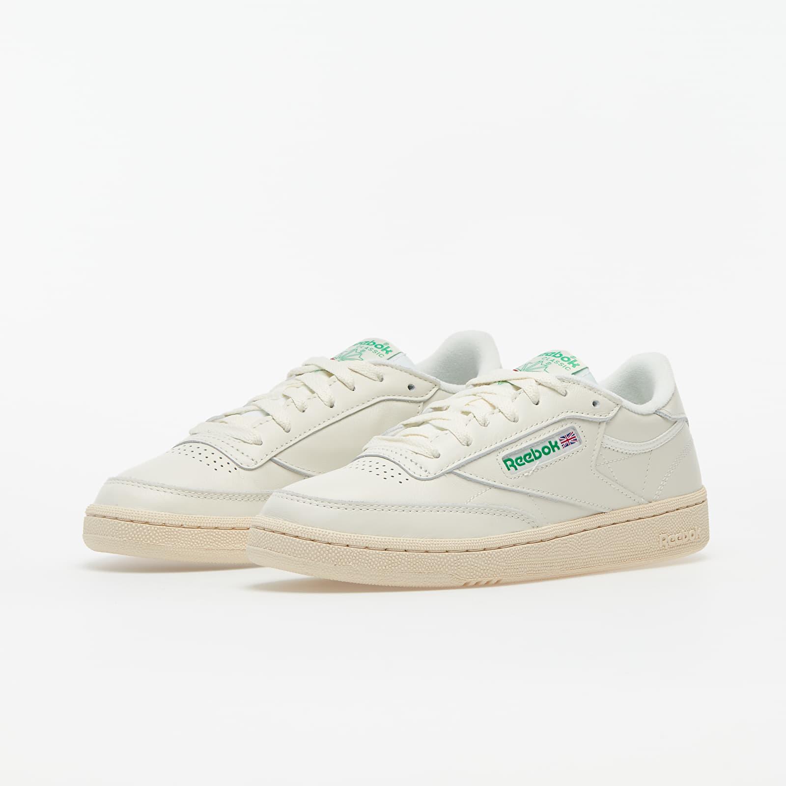 shoes Reebok Club C 85 Chalk/ Green