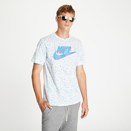 gettone balena account  T-shirts Nike Sportswear Print Pack Swoosh Tee White | Footshop