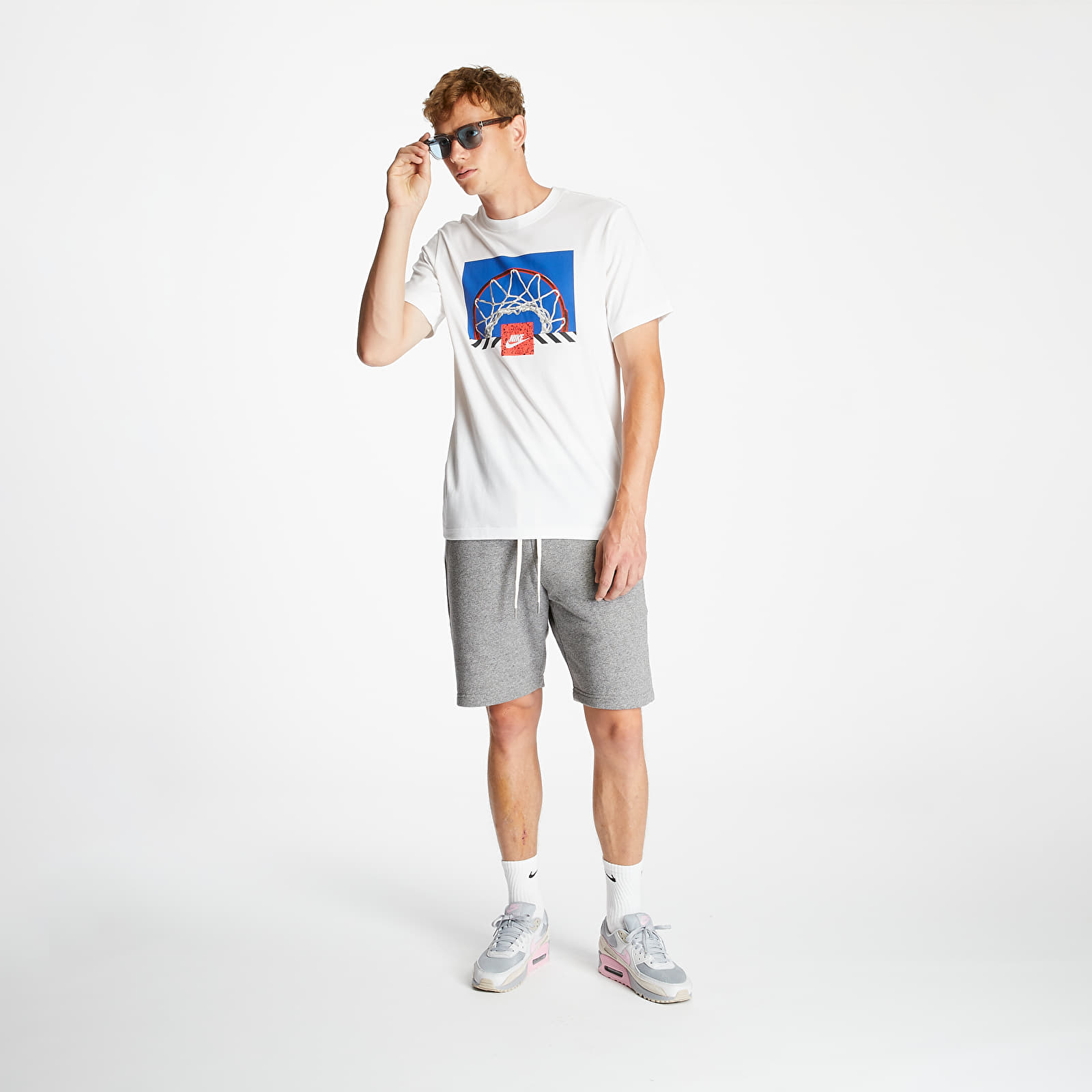 Nike Sportswear Basketball Photo Tee White