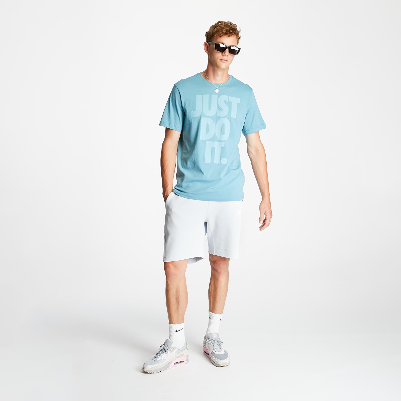 Nike Sportswear Just Do It Wash Tee Cerulean, Blue