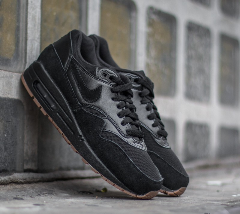 różne kolory gorący produkt taniej Nike Wmns Air Max 1 Essential Black/ Black- Gum Medium Brown | Footshop
