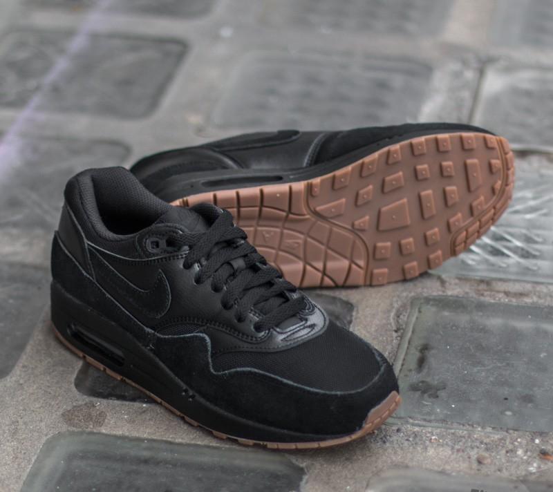 Nike Wmns Air Max 1 Essential Black Black Gum Medium Brown