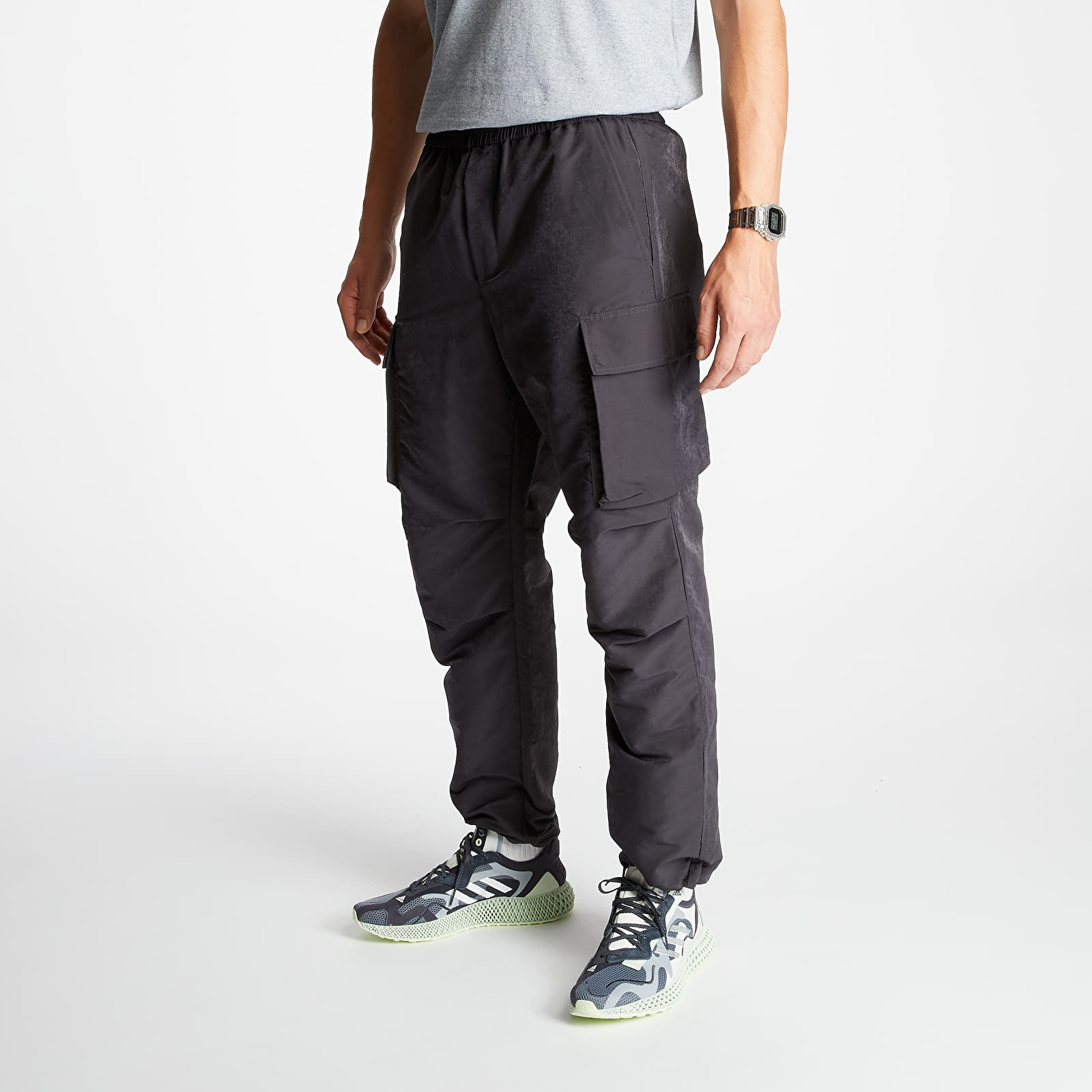 Pants and jeans WOOD WOOD Halsey Trousers Dark Grey