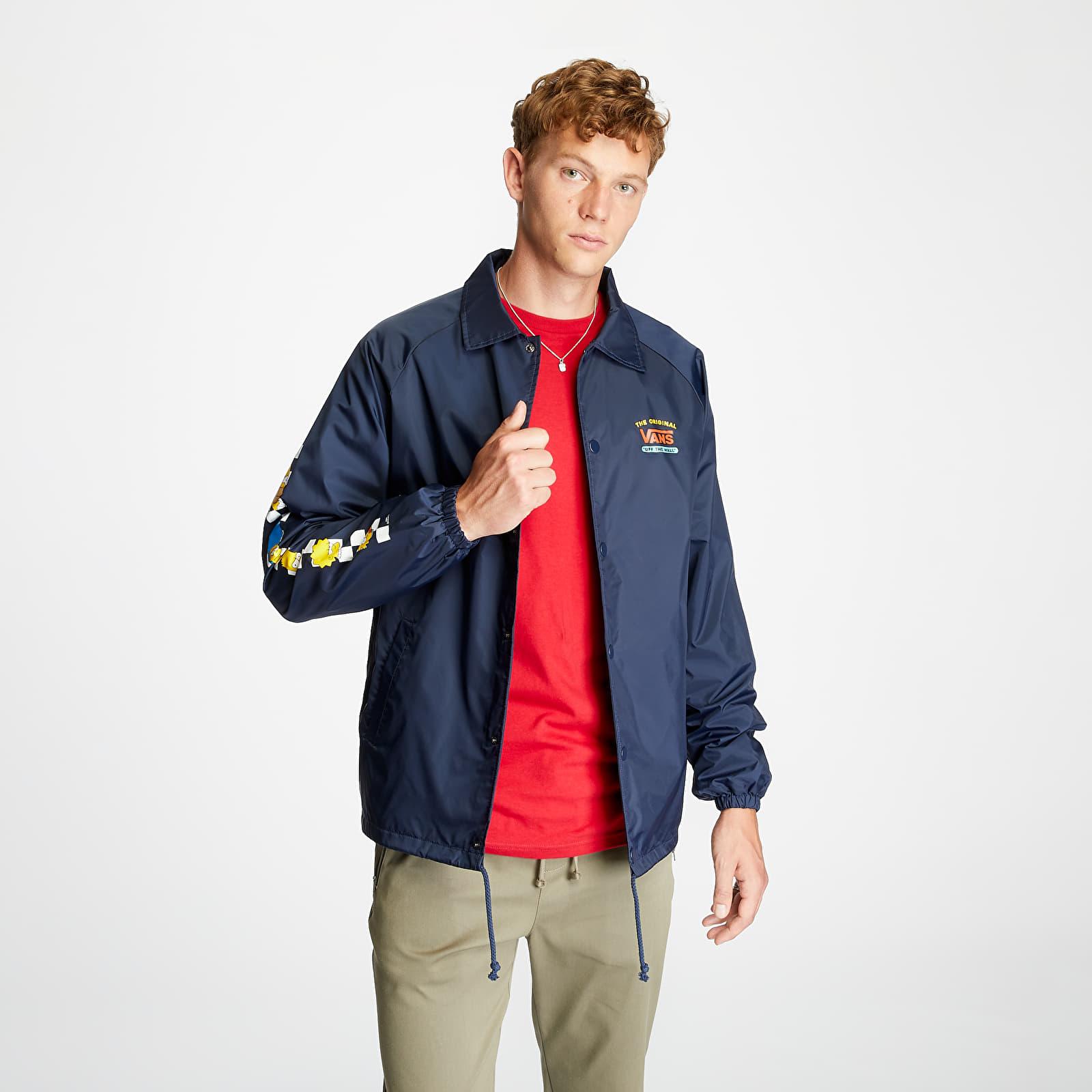 Větrovky Vans x The Simpsons Torrey Jacket Navy