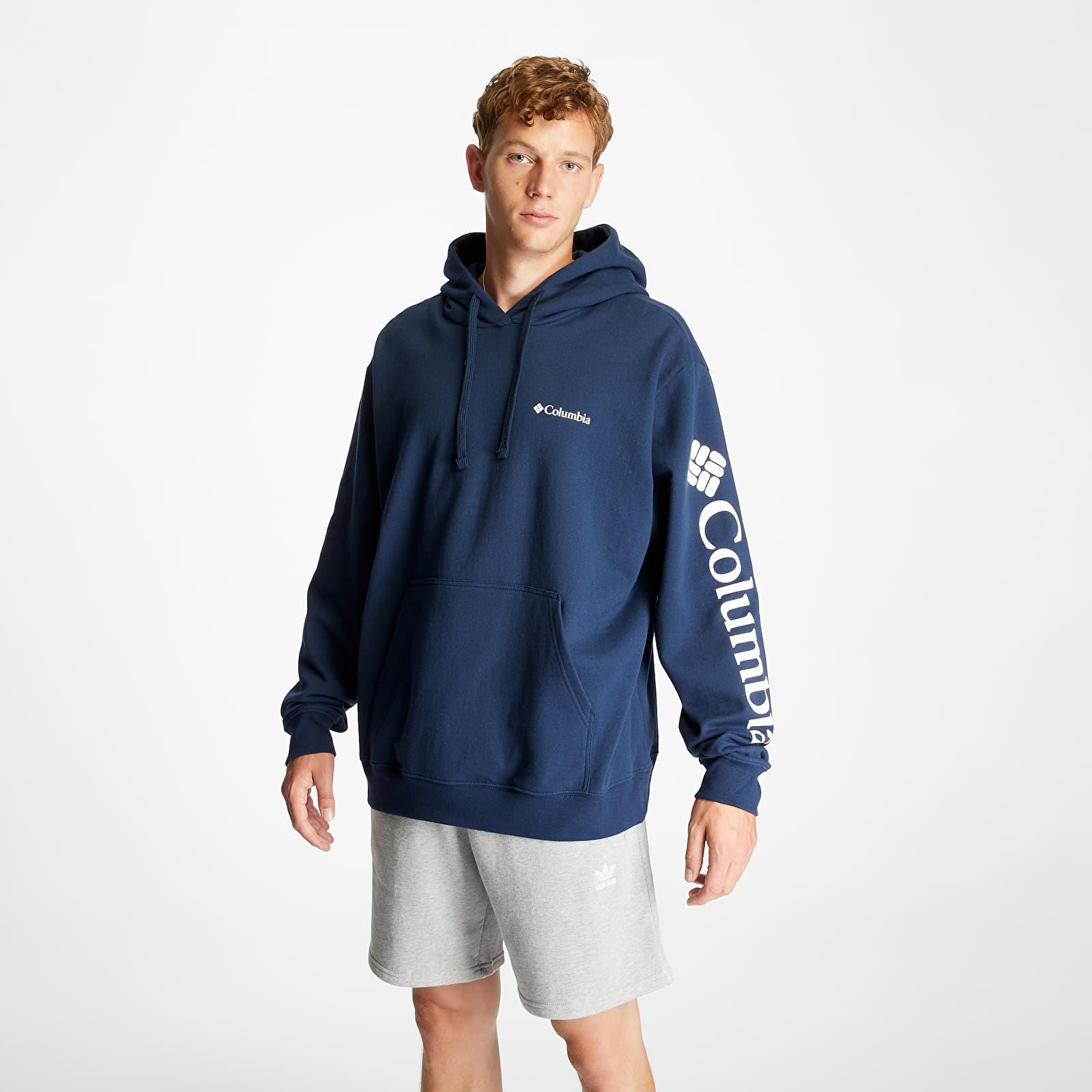 Clothing Columbia Viewmont II Sleeve Graphic Tee Collegiate Navy/ White