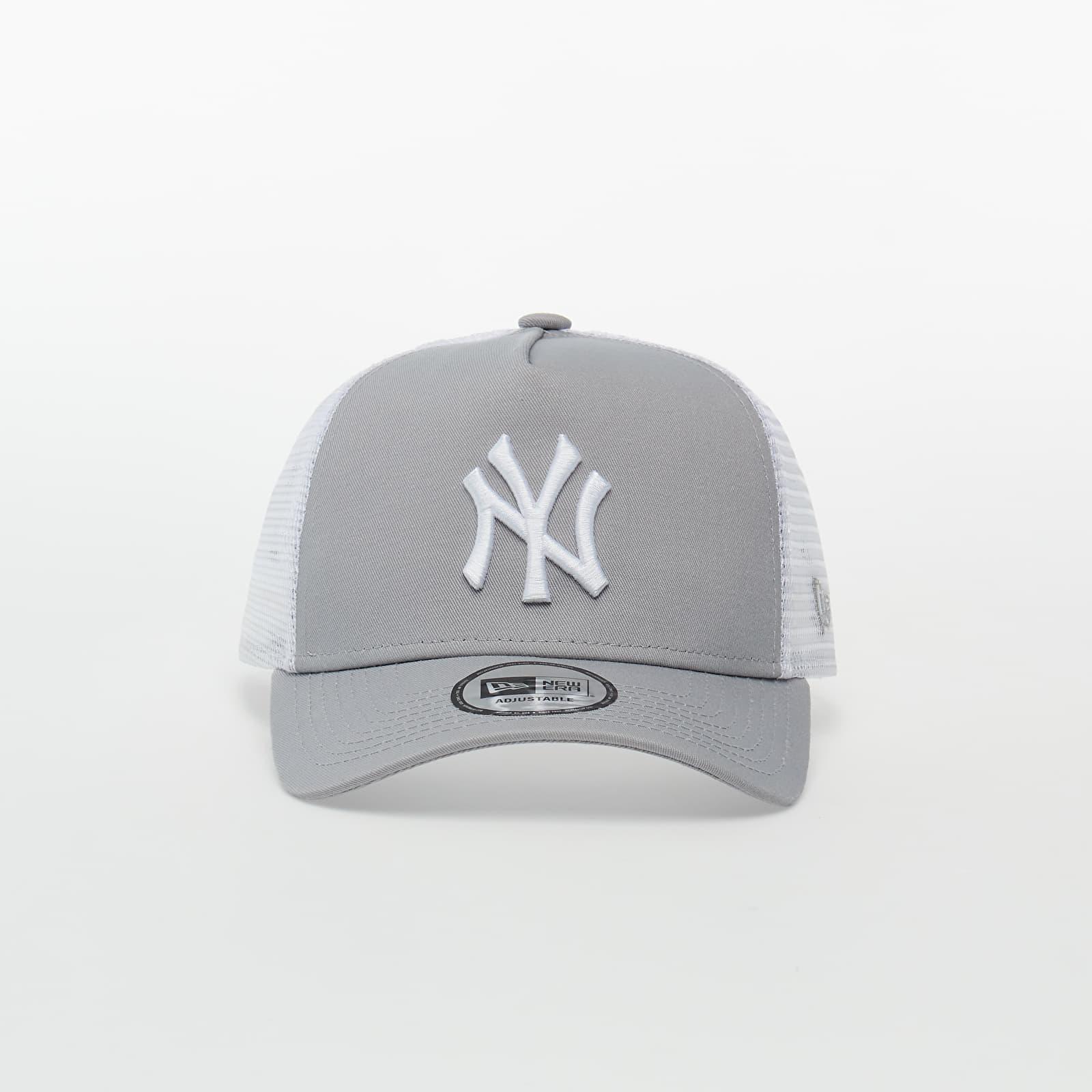 New Era MLB Clean New York Yankees Trucker Cap Grey univerzálna