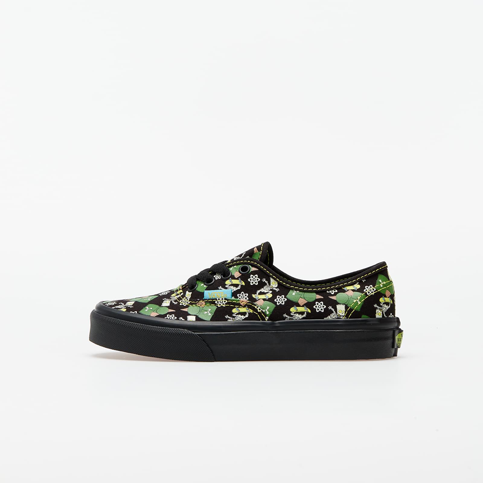 Dětské tenisky a boty Vans Authentic (The Simpsons) Glow Bart