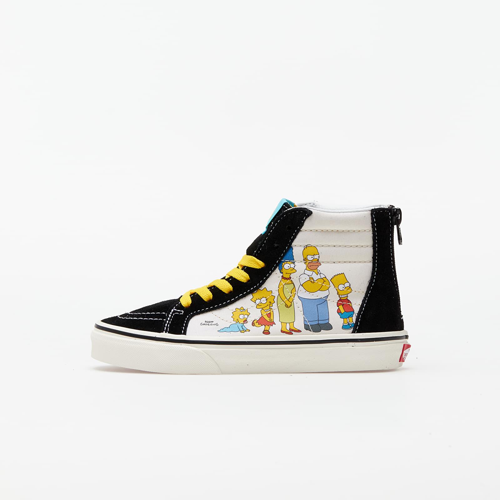 Детская обувь Vans Sk8-Hi Zip (The Simpsons) 1987-2020