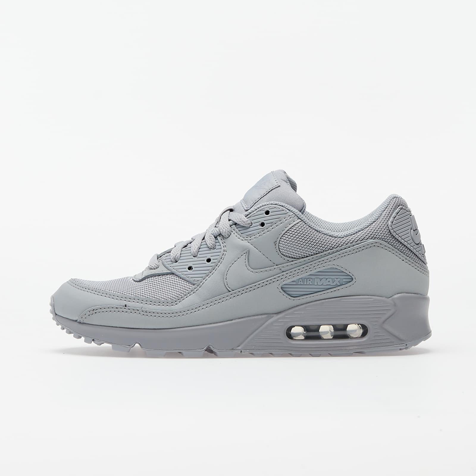 Férfi cipők Nike Air Max 90 Wolf Grey/ Wolf Grey-Wolf Grey-Black