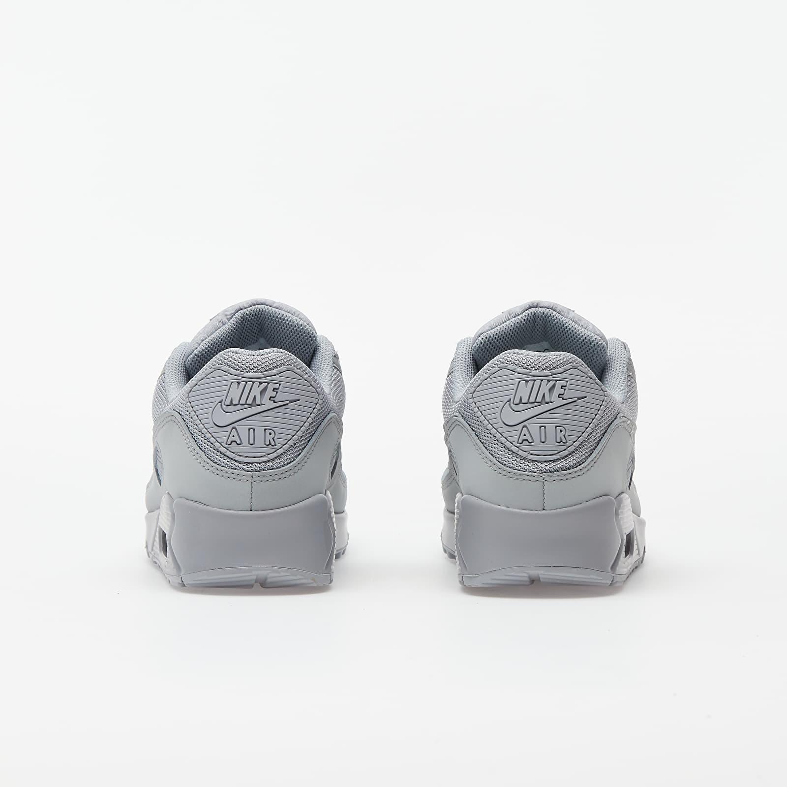 Nike Air Max 90 Wolf Grey/ Wolf Grey-Wolf Grey-Black, Gray