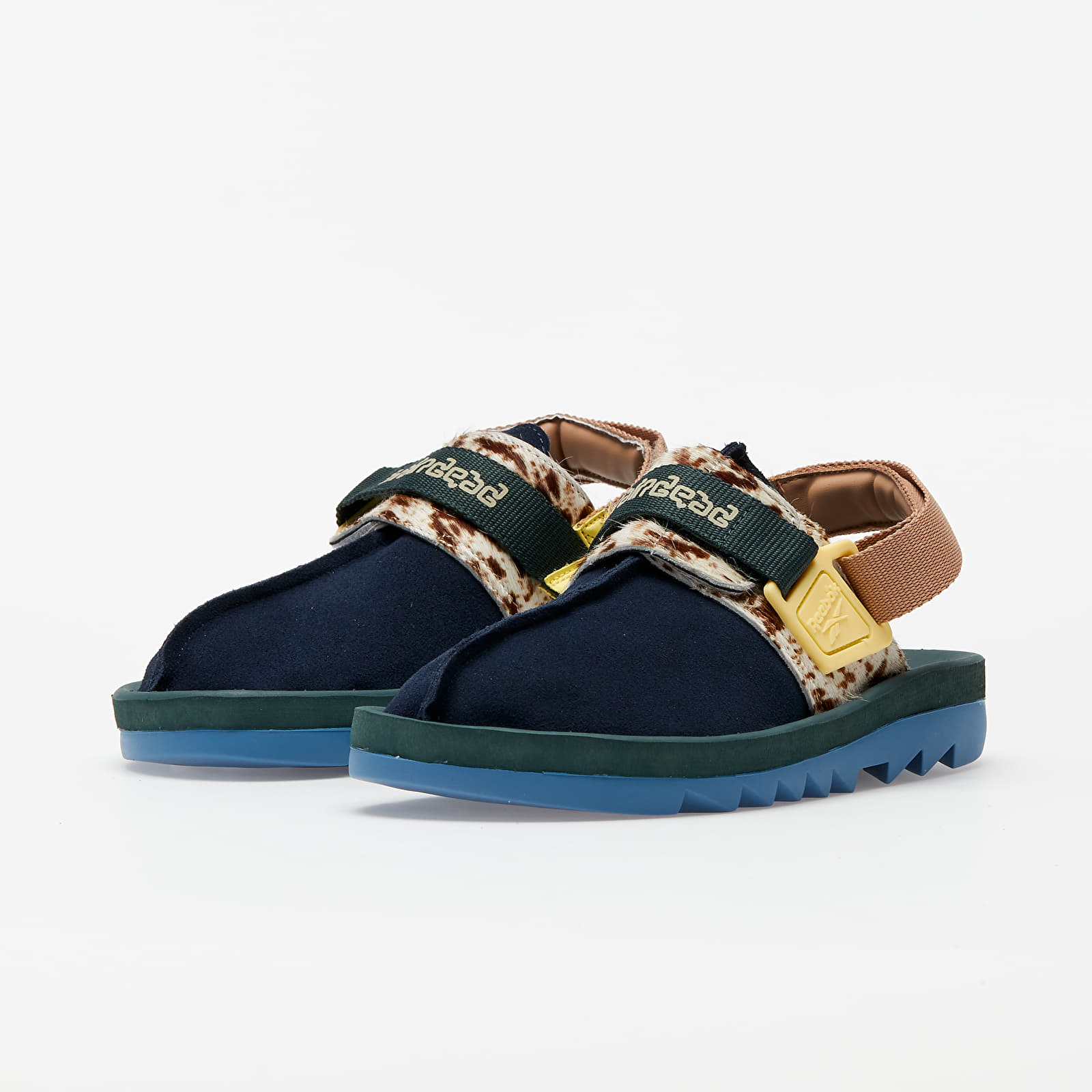 Reebok x Brain Dead Beatnik Collegiate Navy/ Ivy Green/ Shade Green, Blue