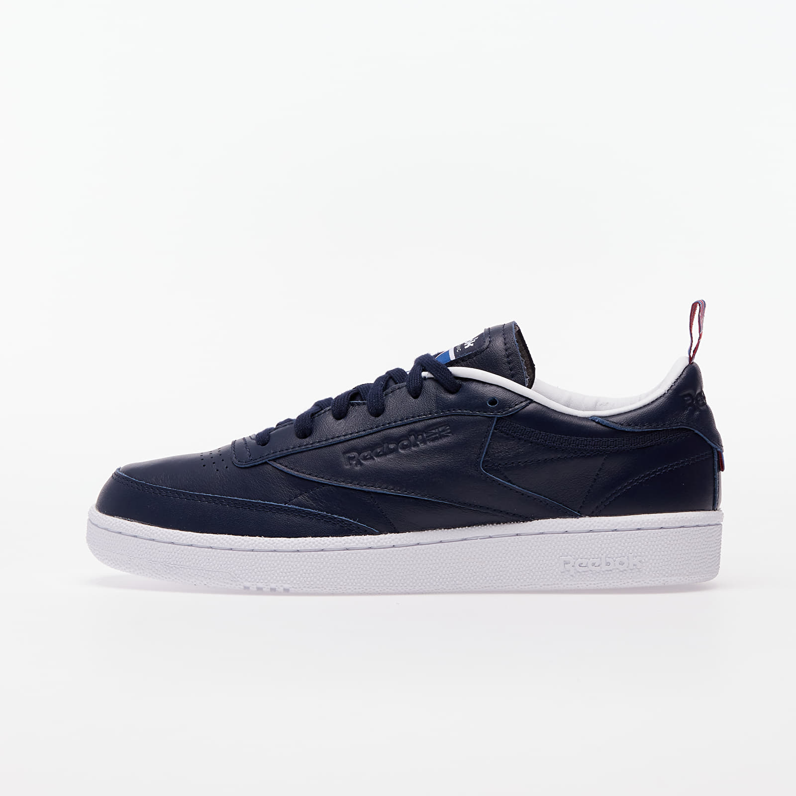 Мъжки кецове и обувки Reebok Club C 85 Vector Navy/ White/ Vector Red