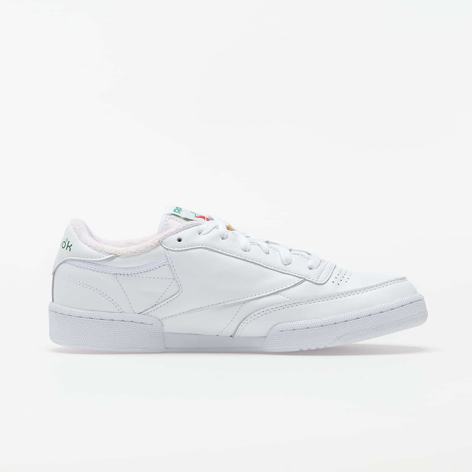 Reebok Club C 85 White/ White/ Glen Green