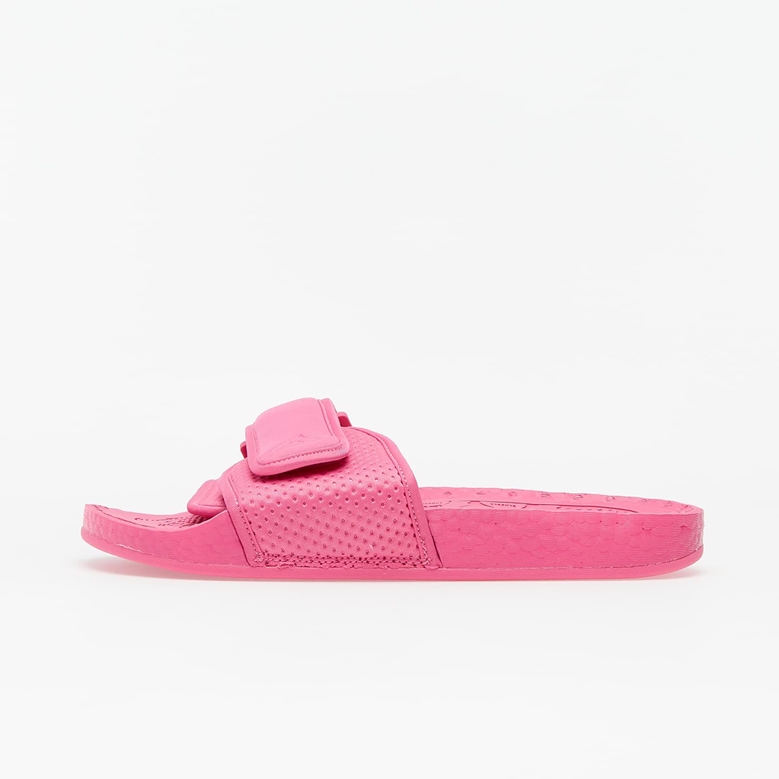 Men's shoes adidas x Pharrell Williams Chancletas Hu Semi Solar Pink/ Semi Solar Pink/ Semi Solar Pink
