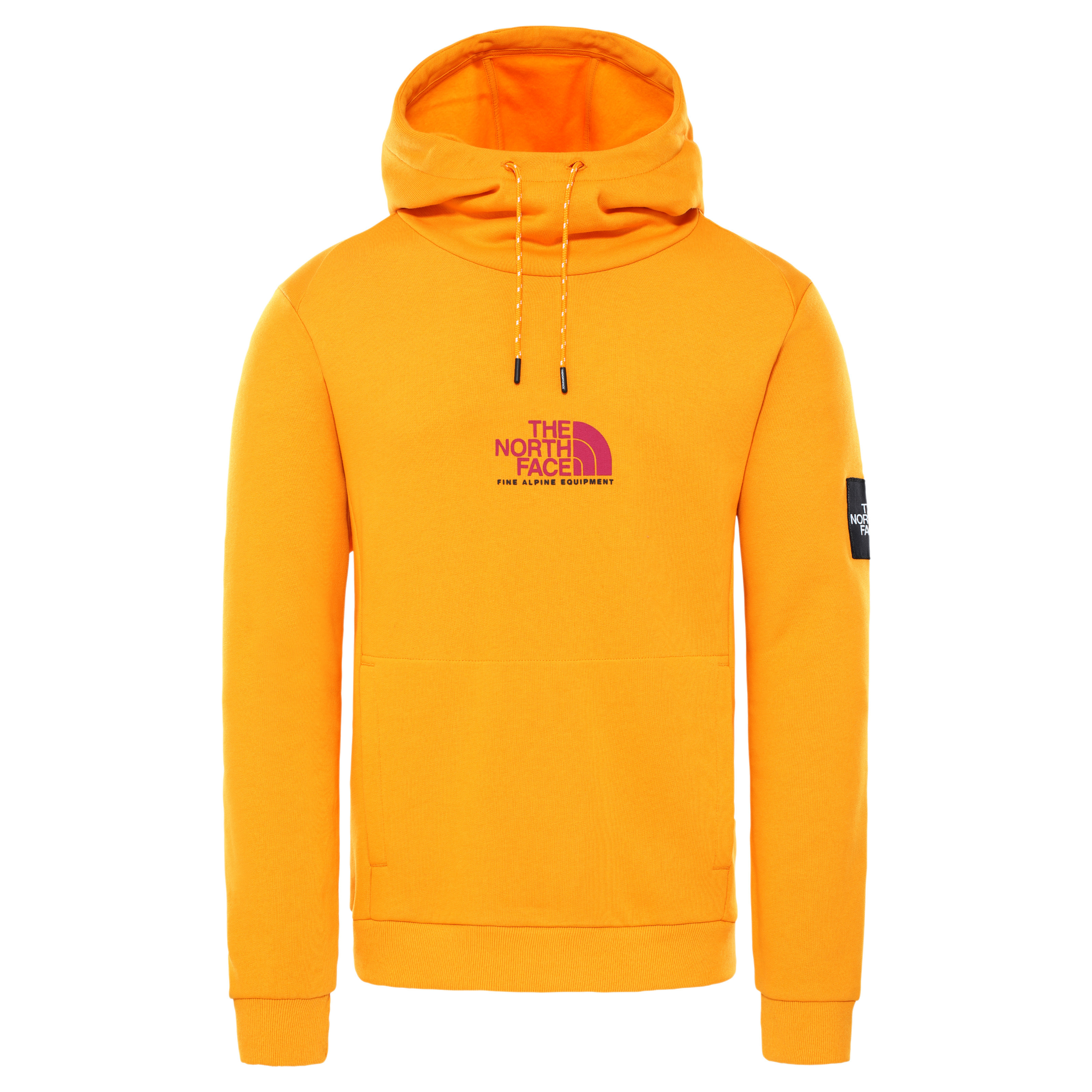 The North Face Fine Alpine Hoodie Summit Gold