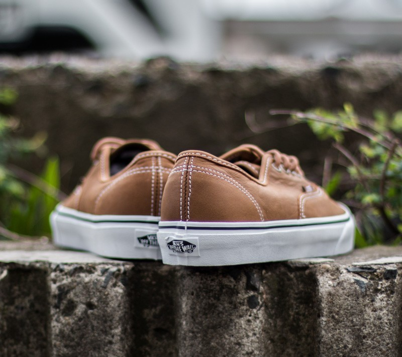 Vans Authentic (Leather) Brown Guate
