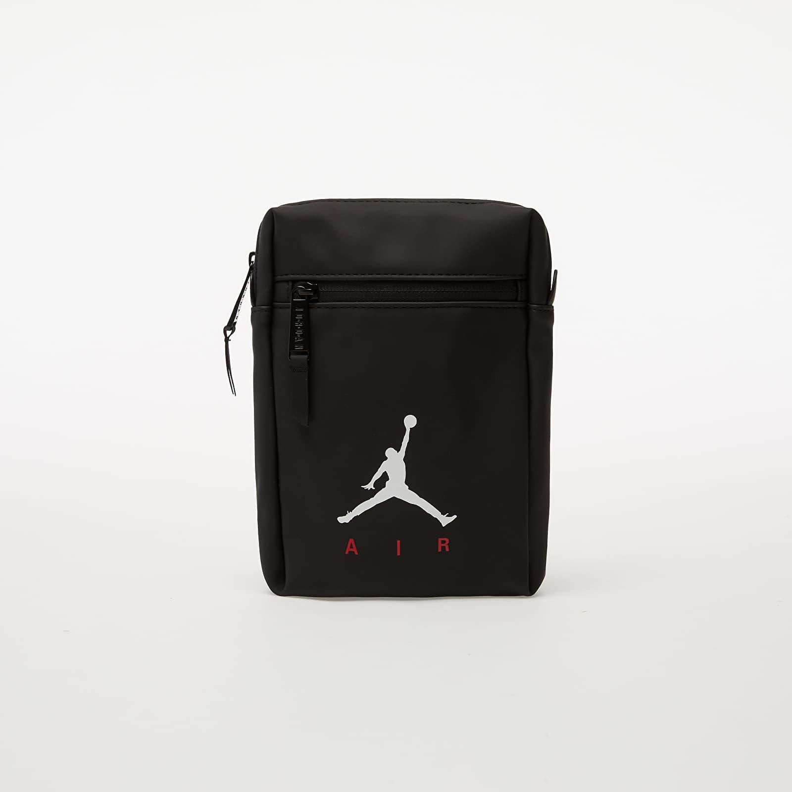 Rucksäcke und Taschen Jordan Sportland American Shoulder Bag Black