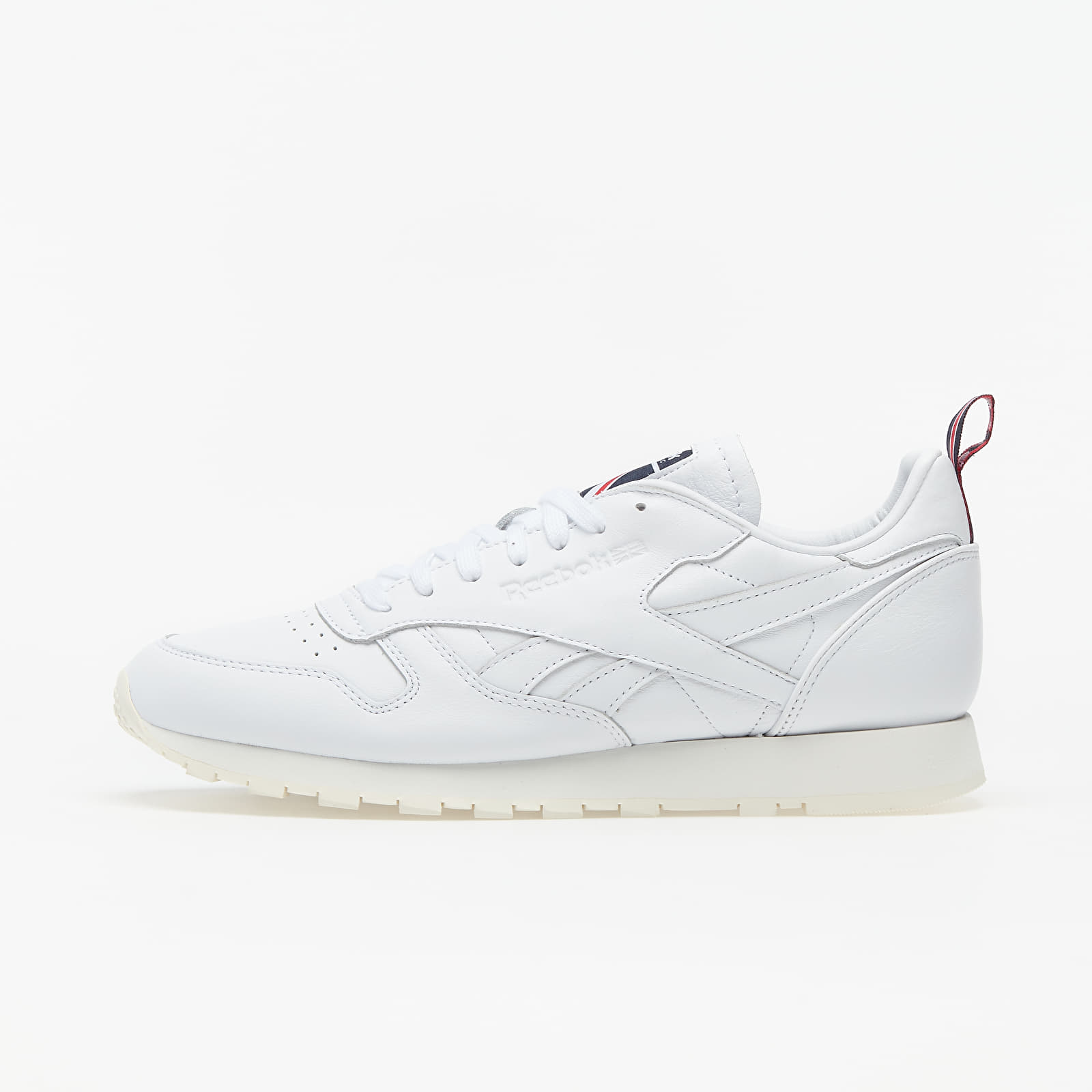 Männer Reebok Classic Leather White/ Chalk/ Vector Navy