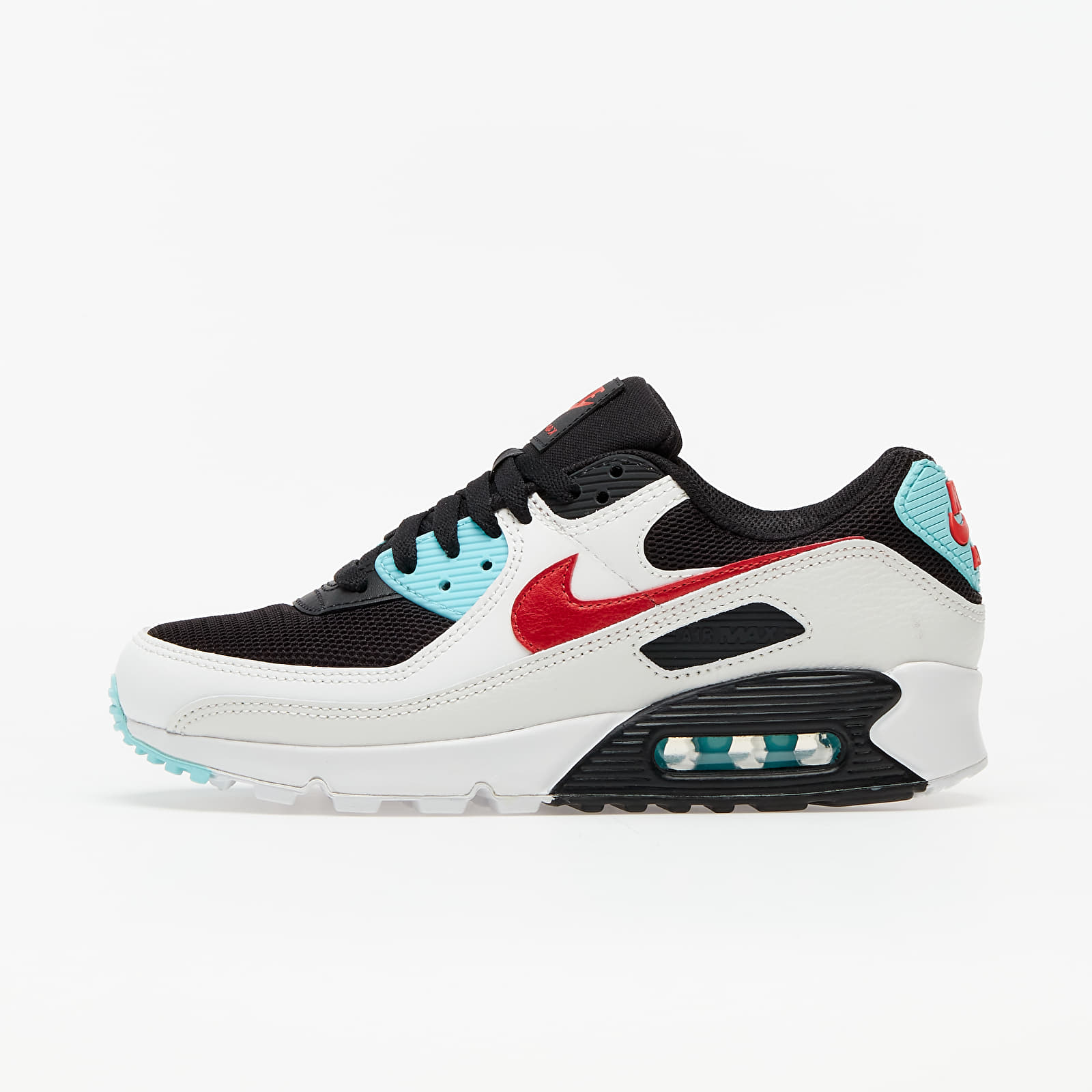 Women's shoes Nike Wmns Air Max 90 Summit White/ Chile Red-Bleached Aqua