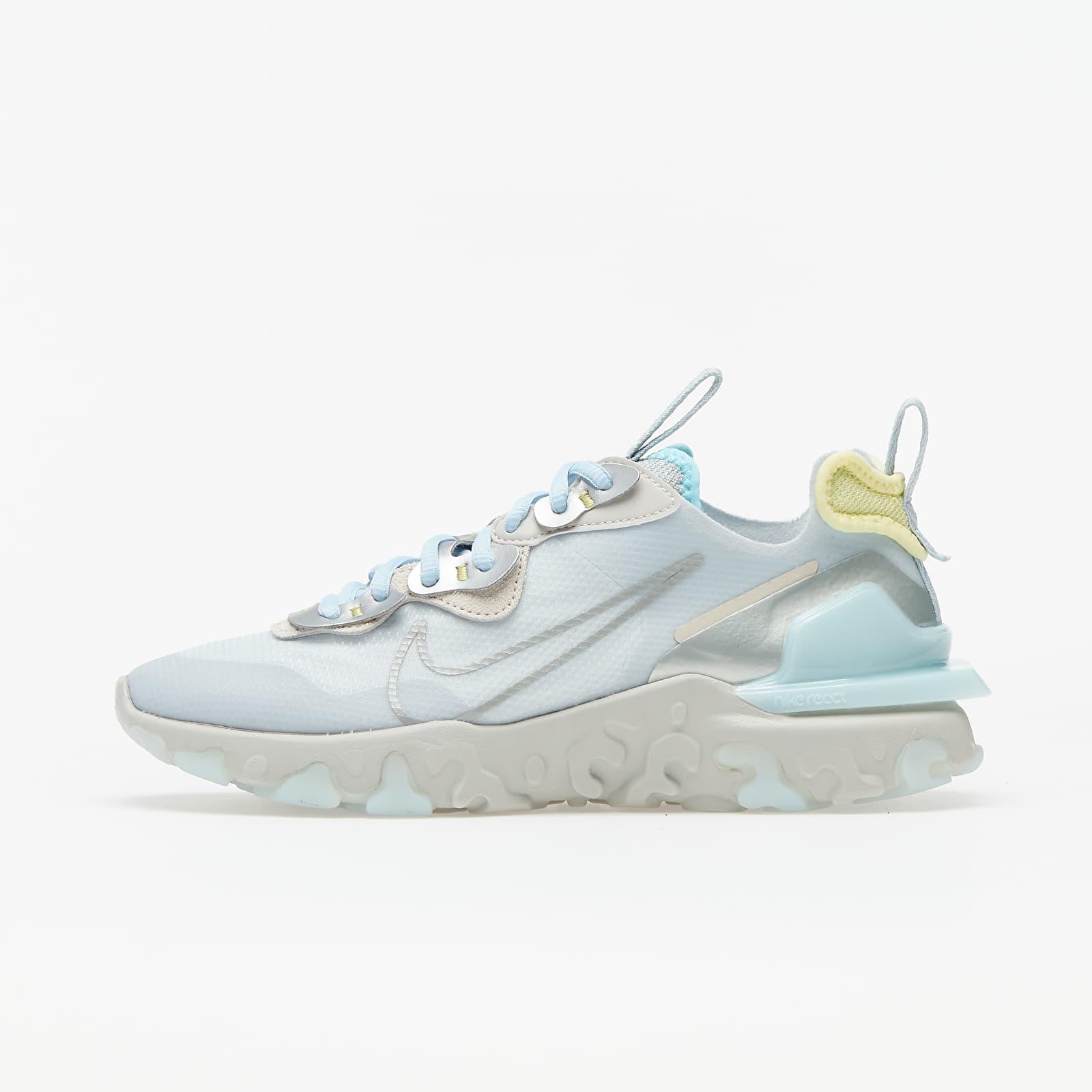 Dámske topánky a tenisky Nike Wmns React Vision Celestine Blue/ Mtlc Platinum