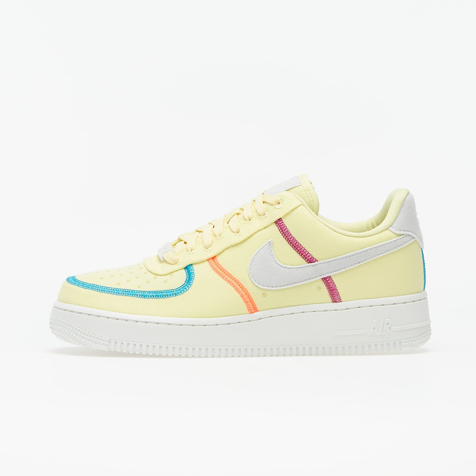 Zapatillas mujer Nike Wmns Air Force 1 '07 LX Life Lime/ Photon Dust-Laser Blue