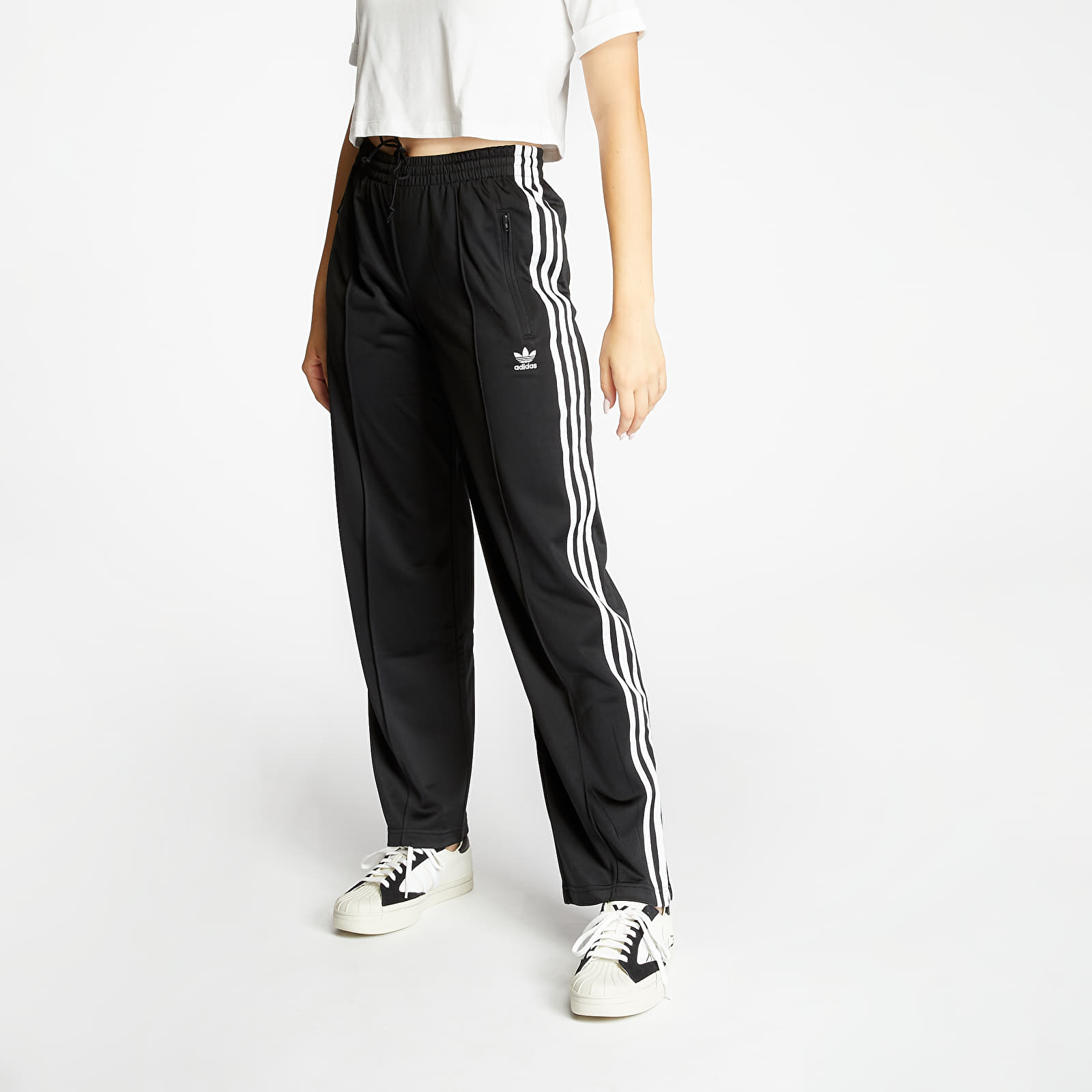 Hosen und Jeans adidas Firebird Trackpants Black