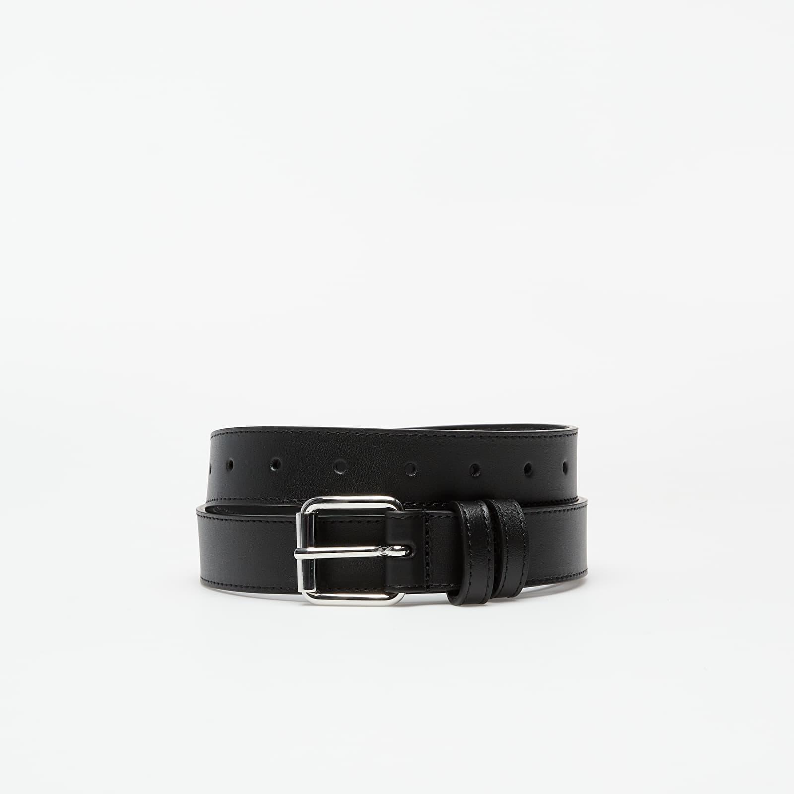 Ceintures Comme Des Garçons PLAY Classic Leather Belt Black