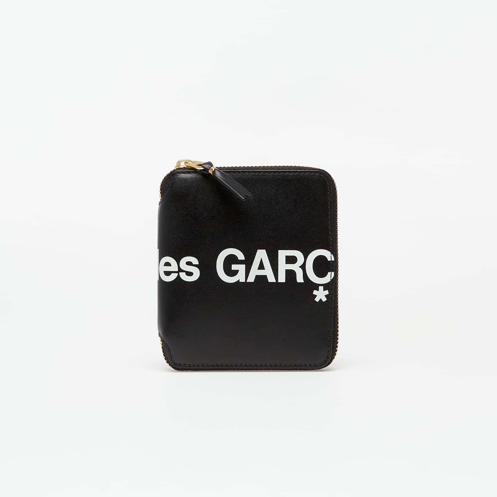 Peňaženky Comme des Garçons Huge Logo Wallet Black