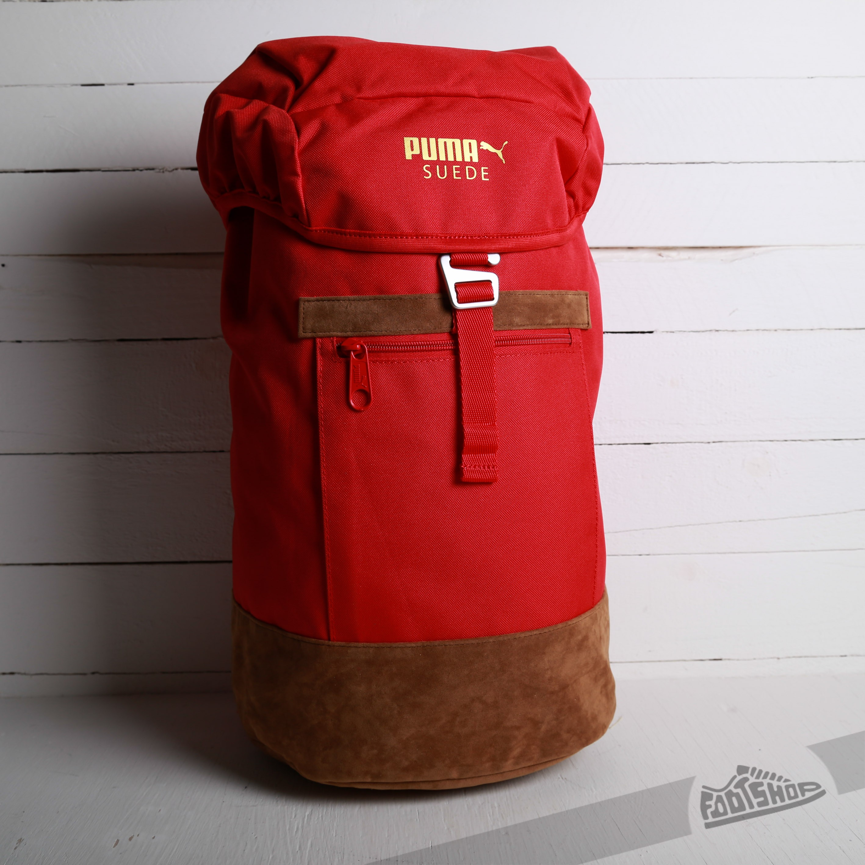 Puma Suede Backpack Team Regal Red